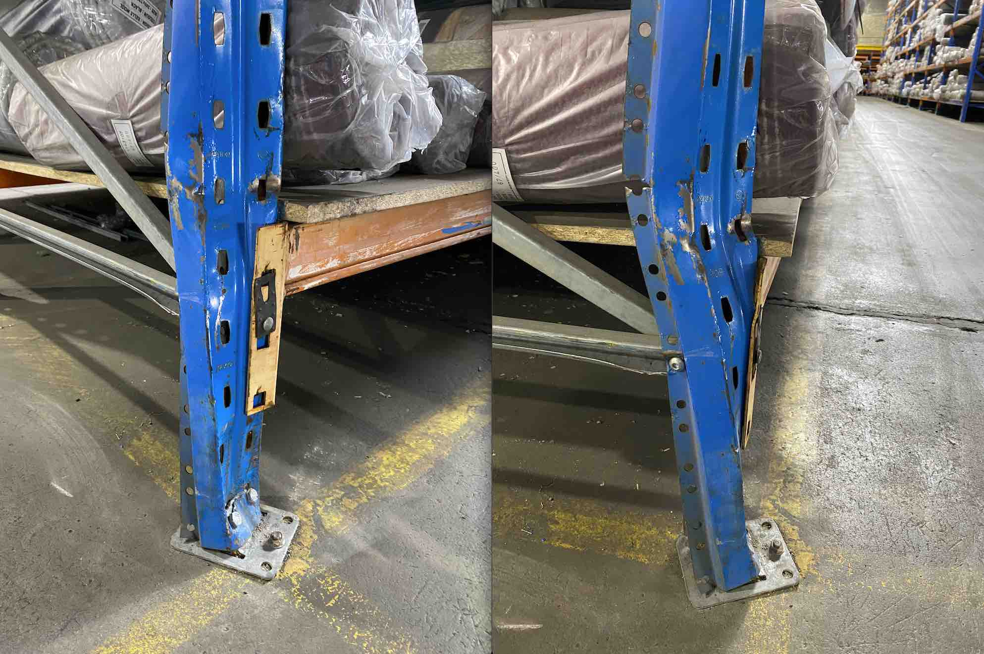 Pallet Racking Parts and Accessories Repairs and Maintenance