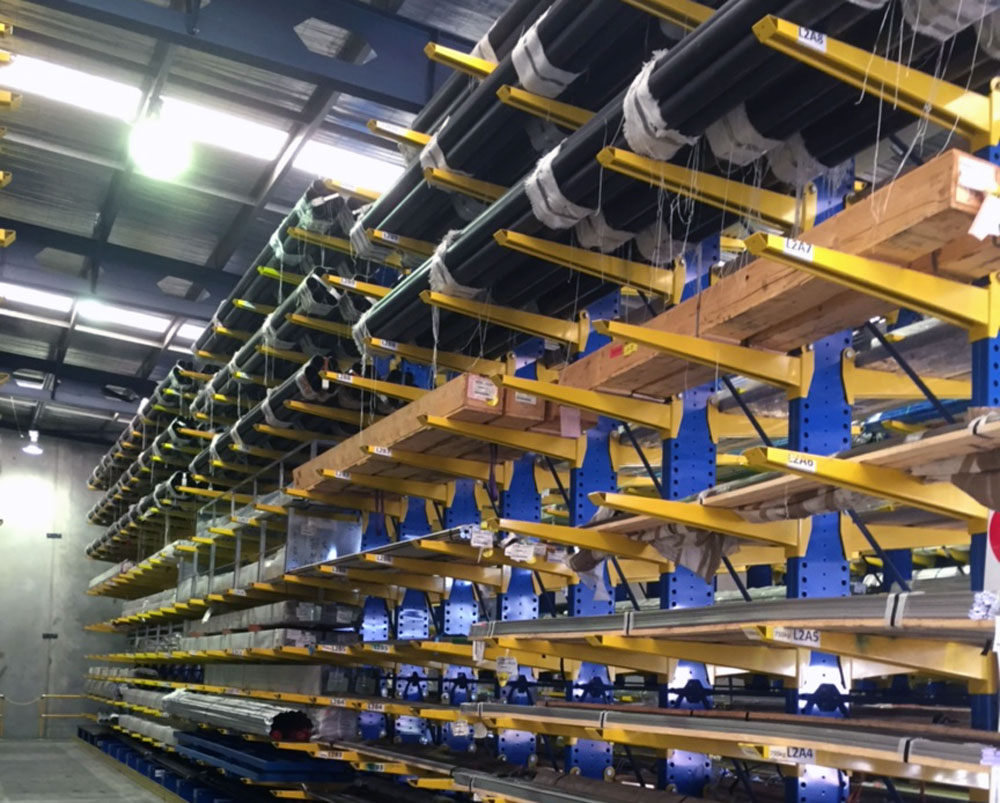 What are the benefits of cantilever racking?