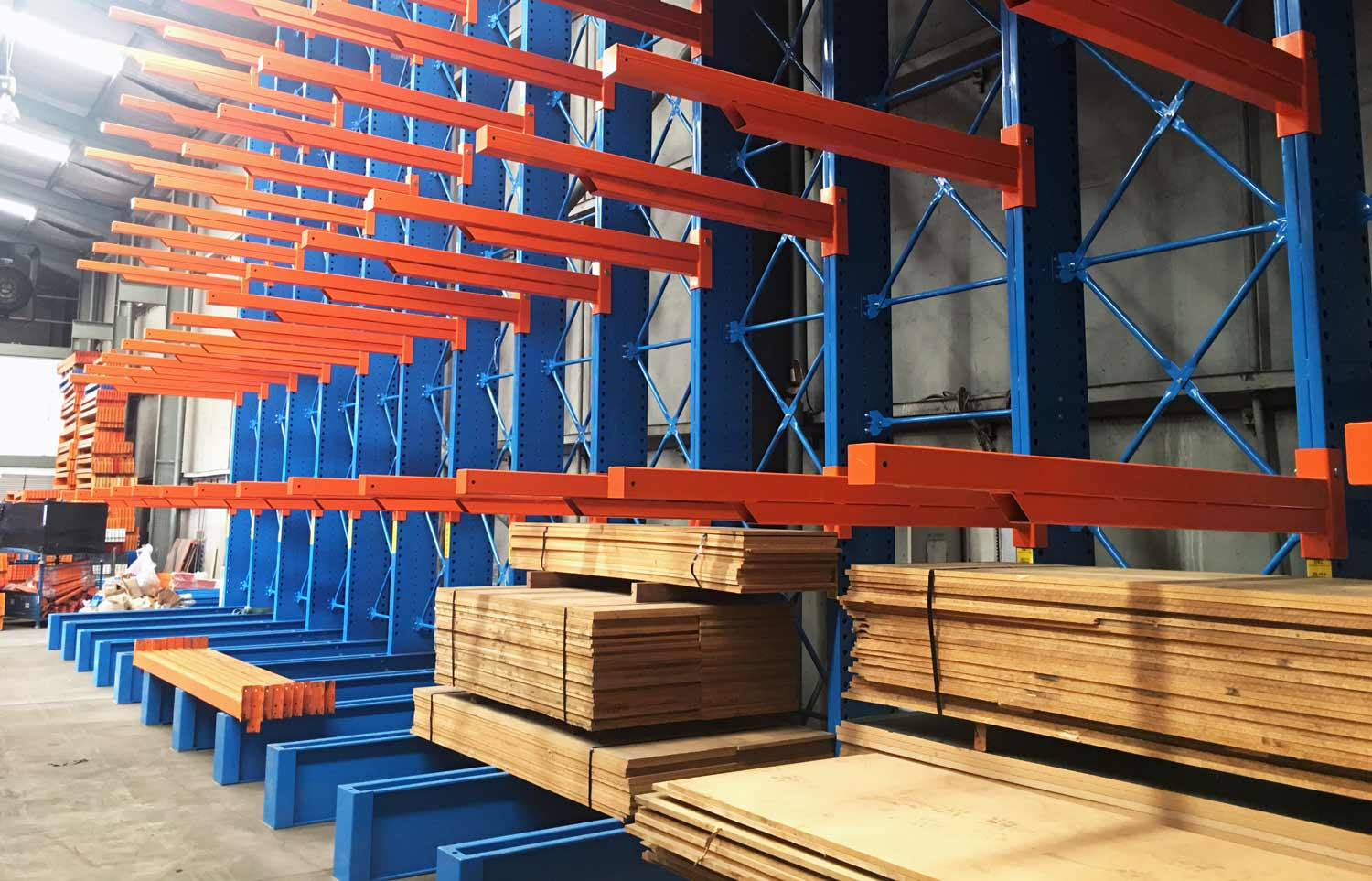 What Can Be Stored in Cantilever Racking?