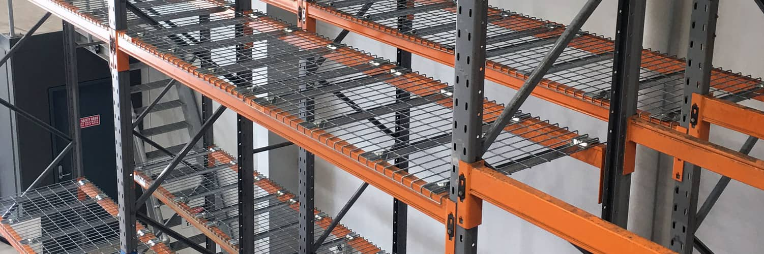 Wire Mesh Decks for Pallet Racking