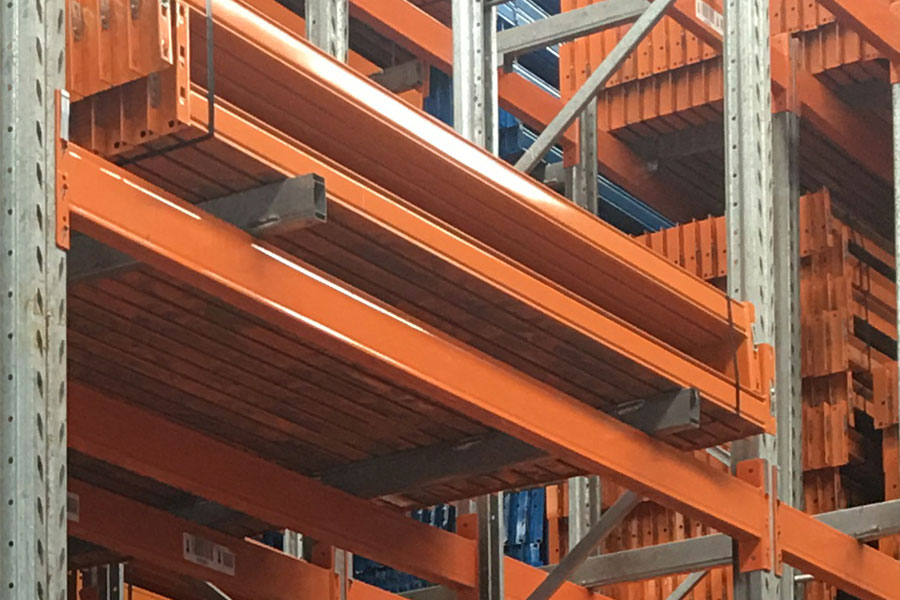 Used Colby Pallet Racking Beams